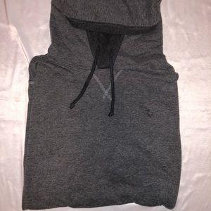 Abercrombie Grey Athletic Hoodie Size Medium